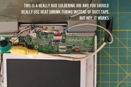 Display Systems: Solder It In.
