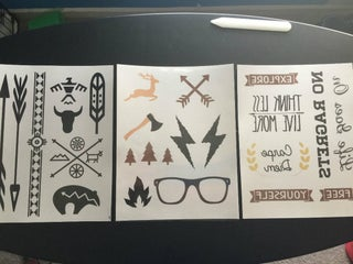 Design And Print Your Own Temporary Tattoos 5 Steps With Pictures Instructables