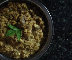 Plantain Flower Kootu Recipe(indian)