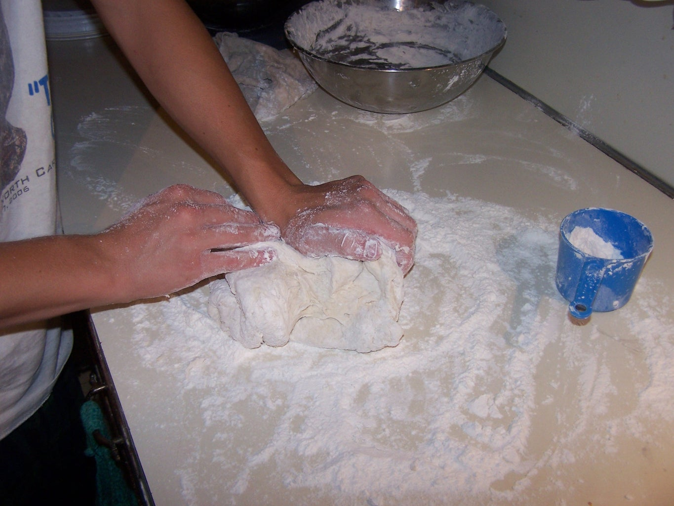 Add Some Flour and Knead It