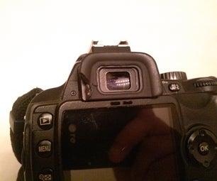 Sugru Camera Viewfinder Fix
