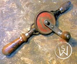 Restoring Old Soviet Hand Drill