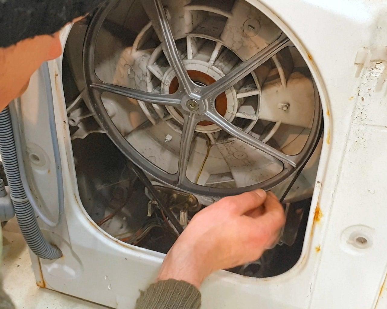 Dismantle the Washing Machine