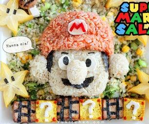 Super Mario Vegan Salad