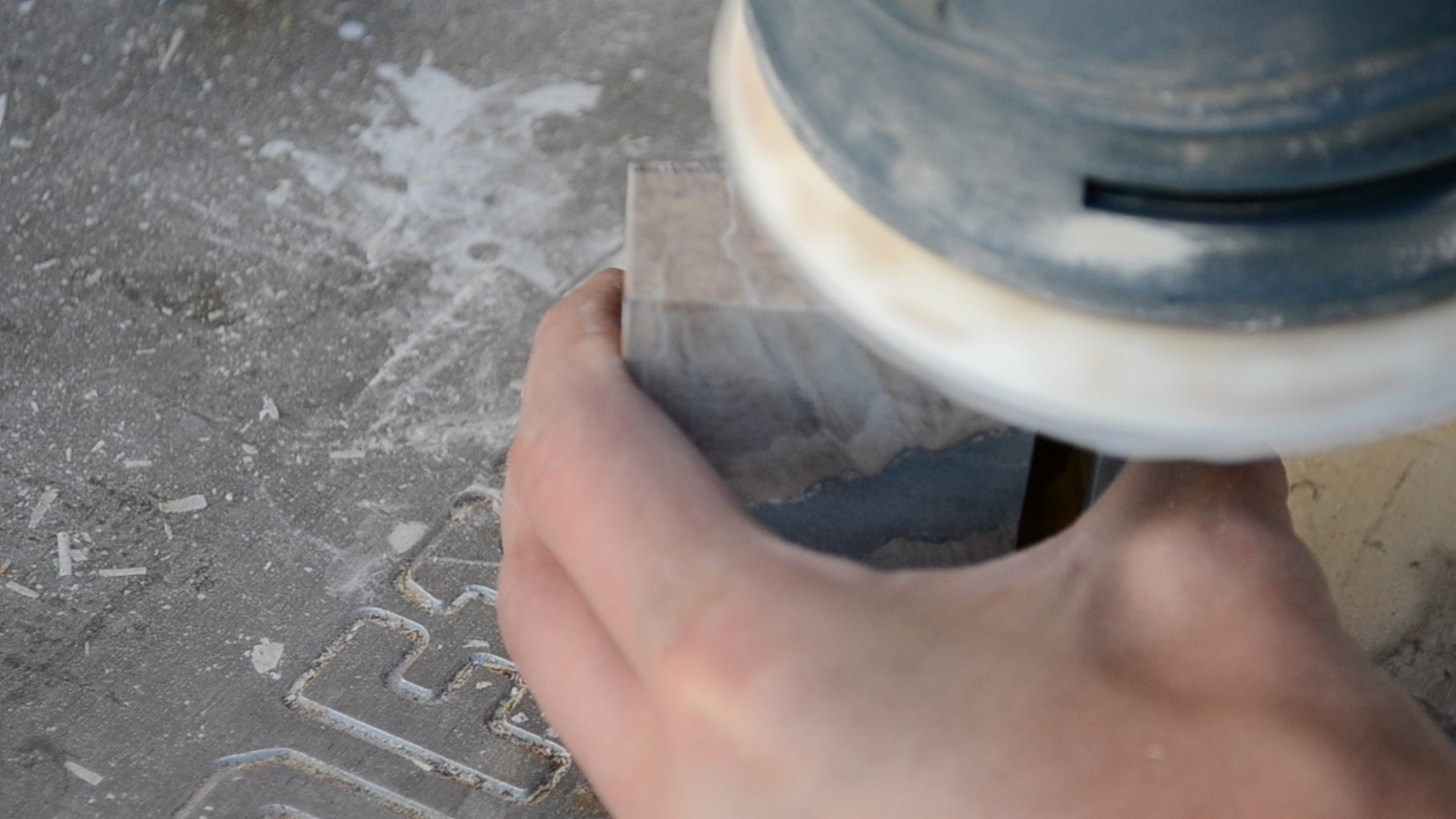 Cutting, and Sanding