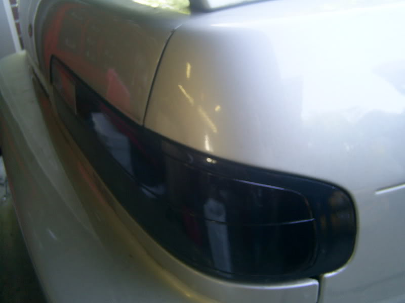 Tinting your taillights