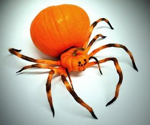 Spider Pumpkin - Jack O' Lantern