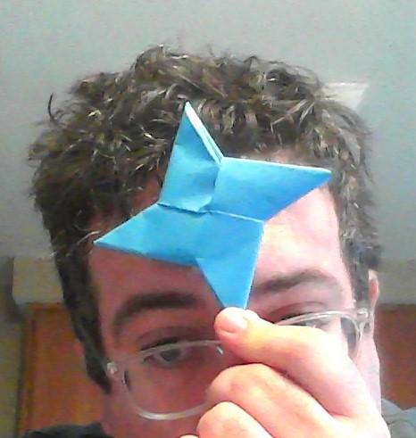 How to Make an Origami Ninja Star