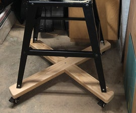 Mobile Power Tool Cart
