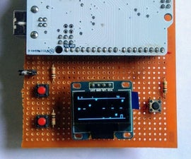 Space Trash Game Using Arduino and OLED Display