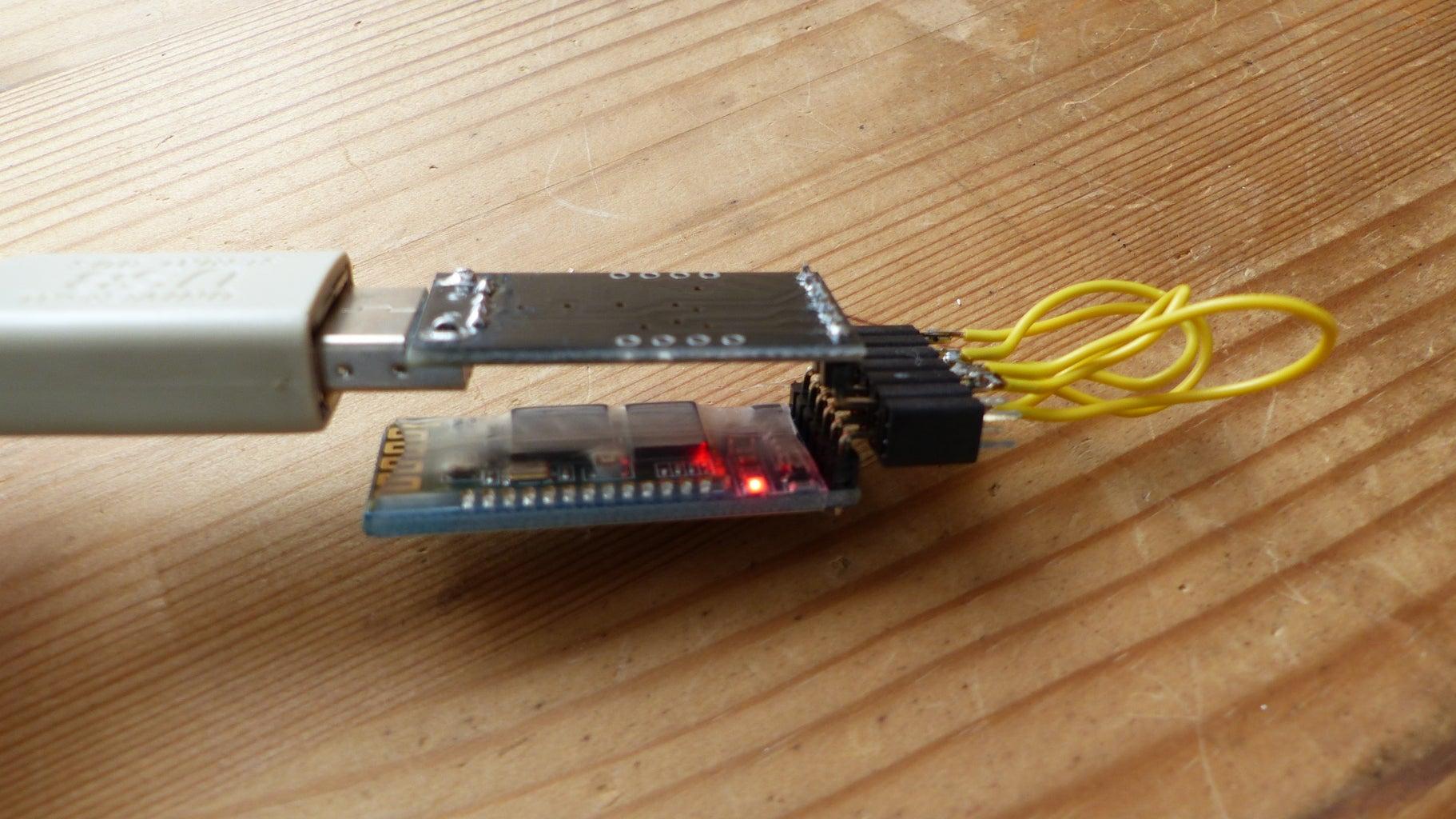 Preparing the Bluetooth Module