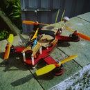The 240 Class Laser Cut FPV Mini-Quadcopter!