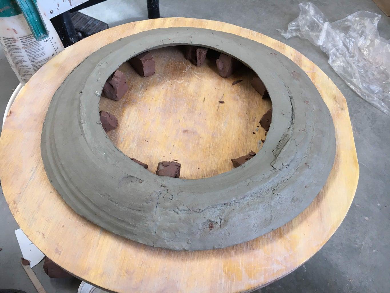 Extending the Donut Lid - Attaching Slabs + Reinforcing