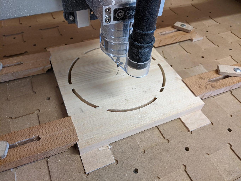 Carve the Pi Pad Back Side