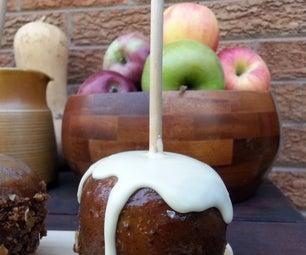 Ice-Cream & Crumble Caramel Apple