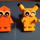 Lego Pokémon: Lego Charmander and Pikachu