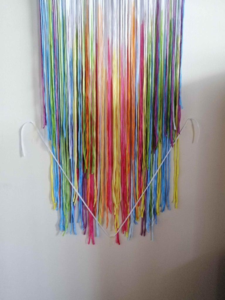 Trim T-shirt Yarn Strips