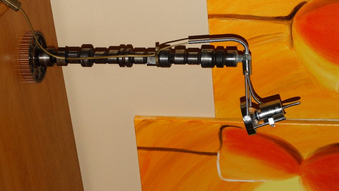 DIY ENGINE PARTS LAMP