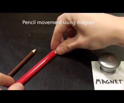 Pencil Experiments You Can Try at Home - Part 1