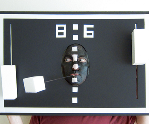 PONG Video Game Costume