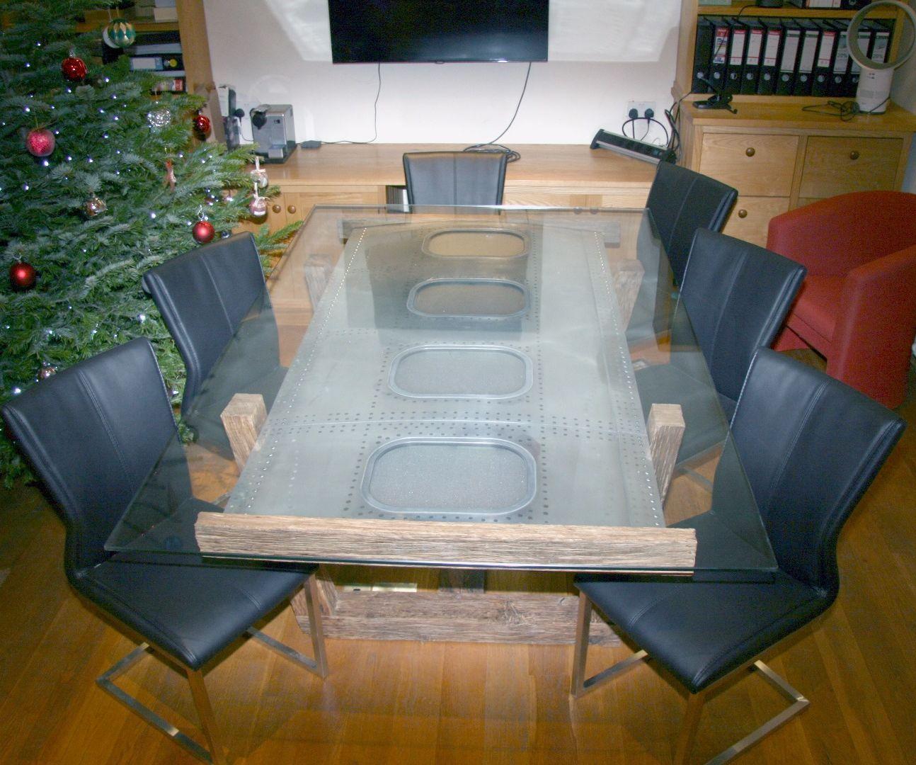 747 Fuselage Meeting Table