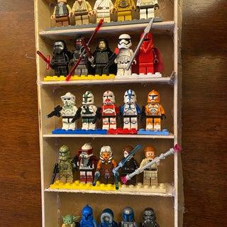 Lego Mini Figures Display