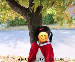 EASY Little Red Riding Hood Cloak