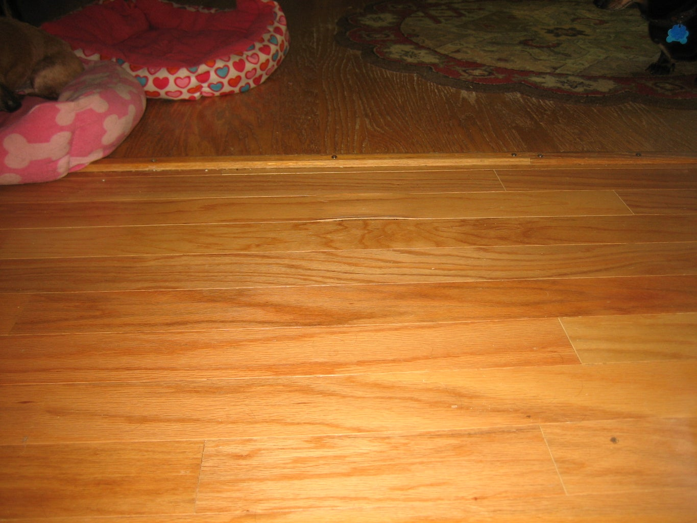 HOW I REPLACED a PEELING FLOOR BOARD
