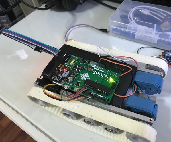 WiFi Tank With SPEEEduino!