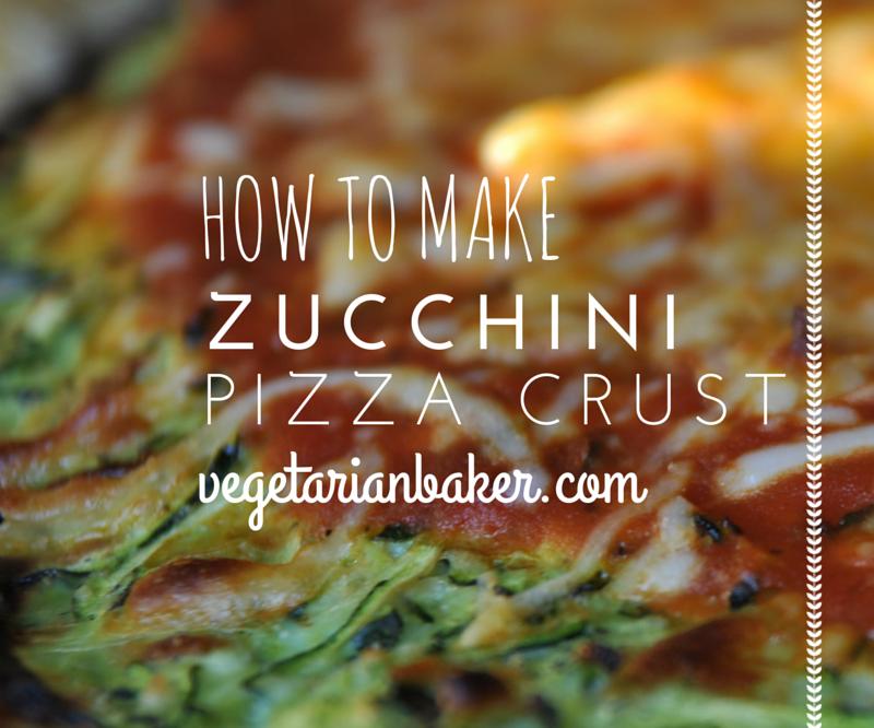 How To Make Zucchini Pizza Crust | Gluten-Free