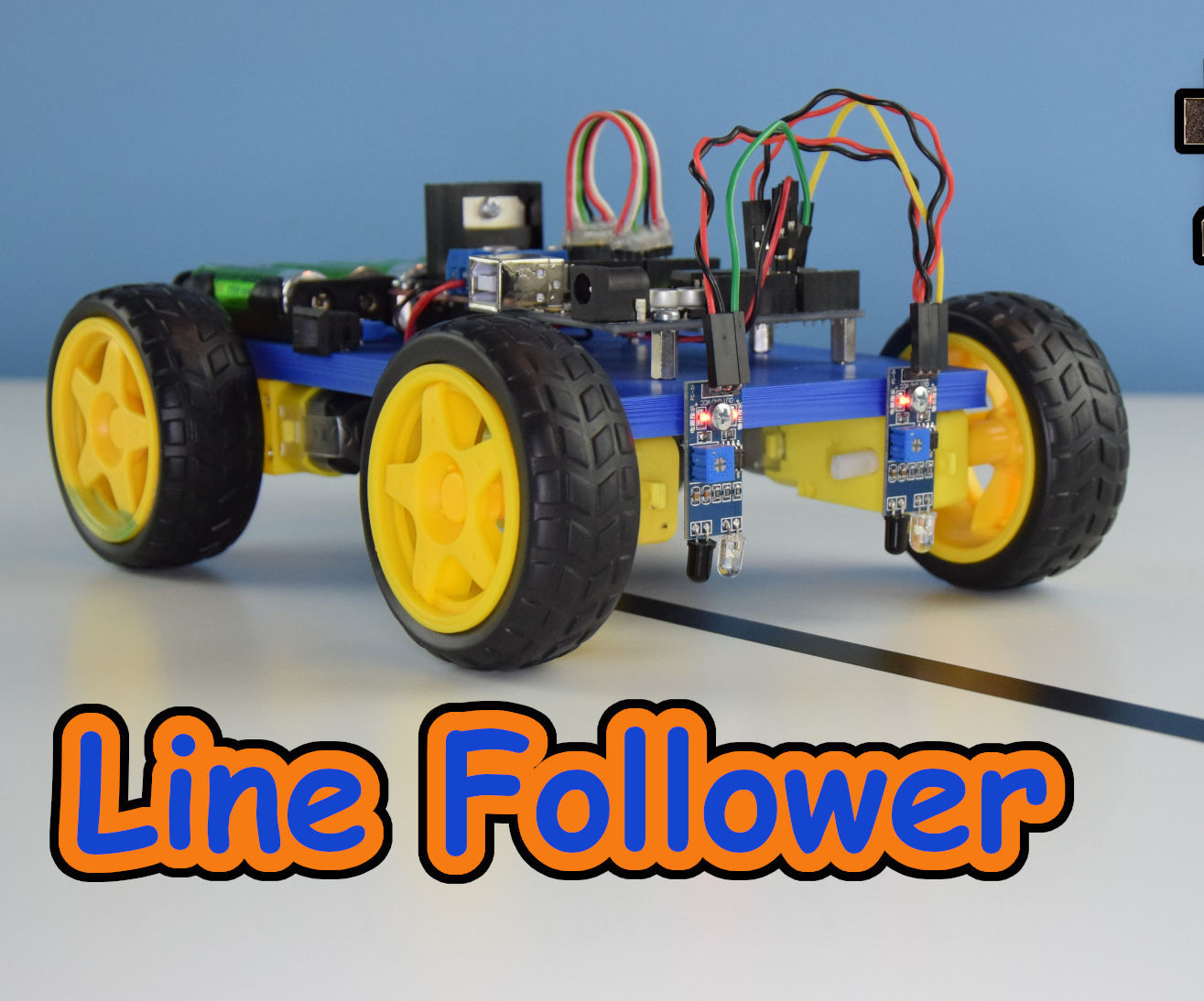 Line Follower Robot Using Arduino Uno and L298N