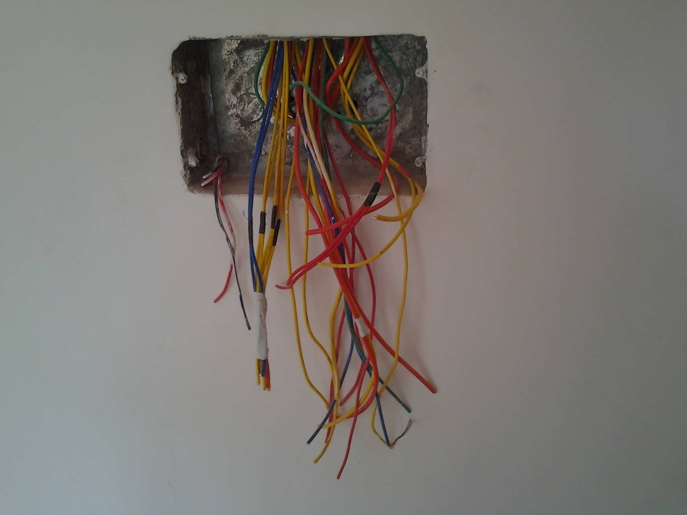 Initial Wiring and Testing
