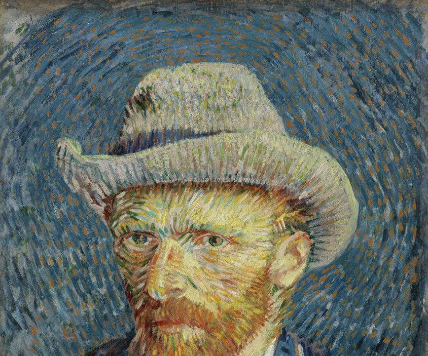 Van Gogh 3-D Sculpture Cake