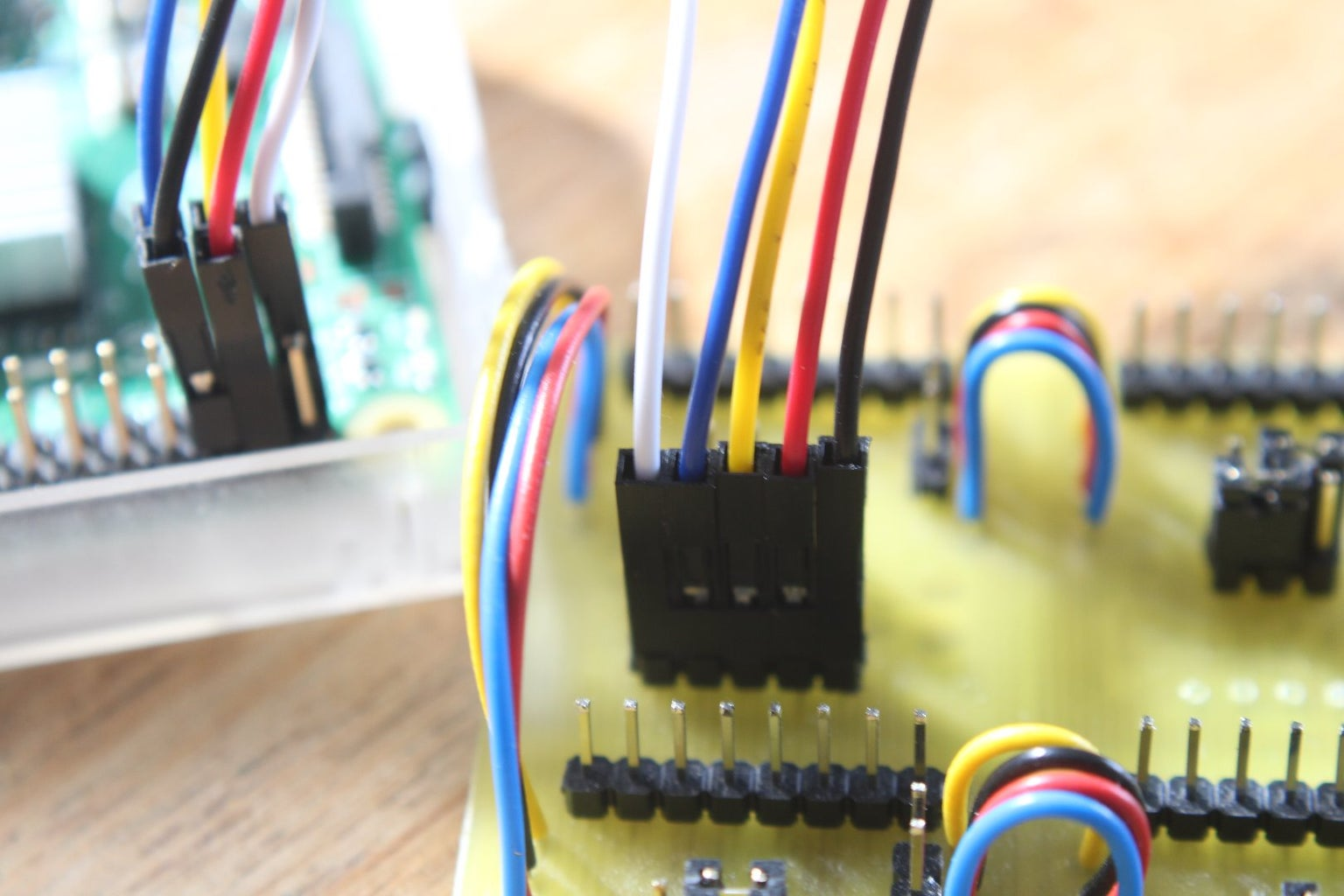Connecting to Raspberry PI