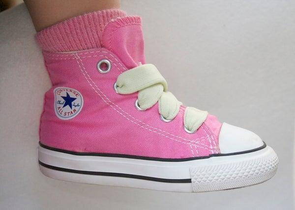 DIY Elastic Shoelaces