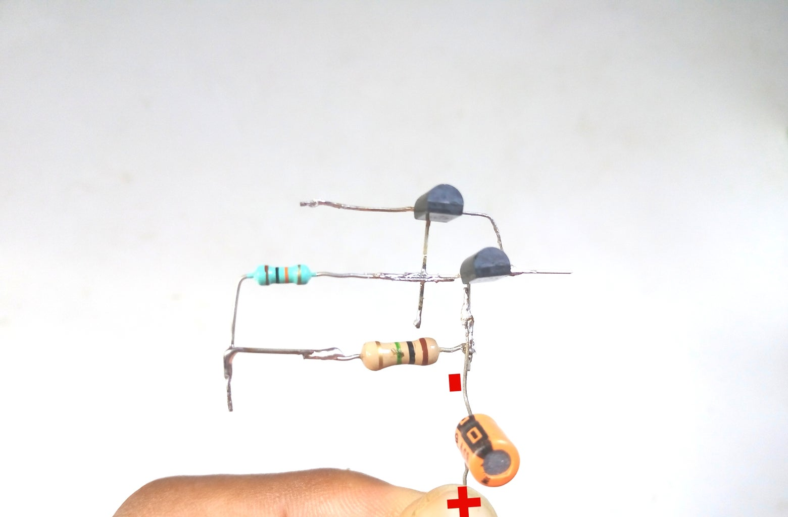 Connect Capacitor