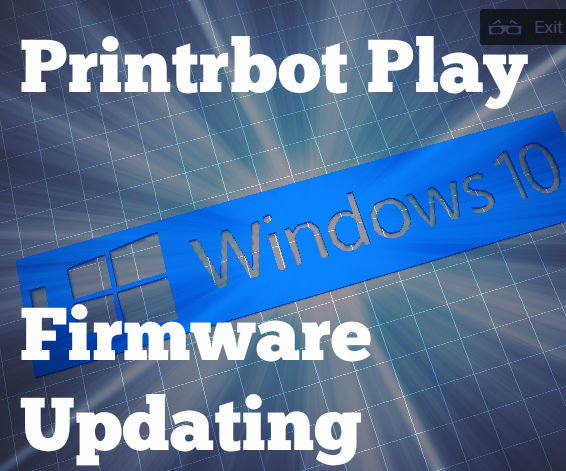 Windows: How to Update Your Printrbot Play (1505) Firmware
