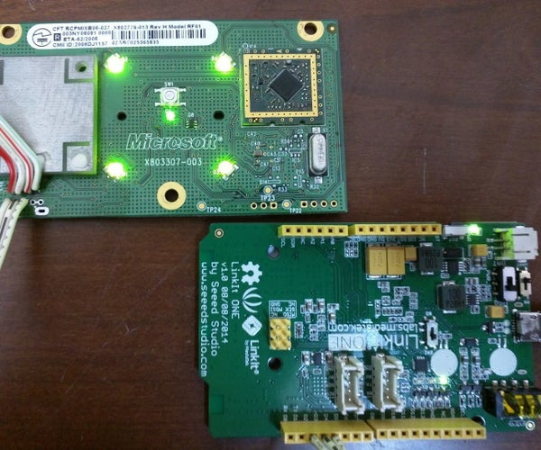 DIY Xbox 360 Controller Receiver Using LinkIt ONE