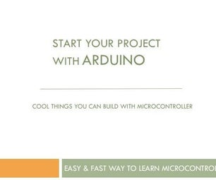 Fastest Way to Learn Arduino Microcontroller