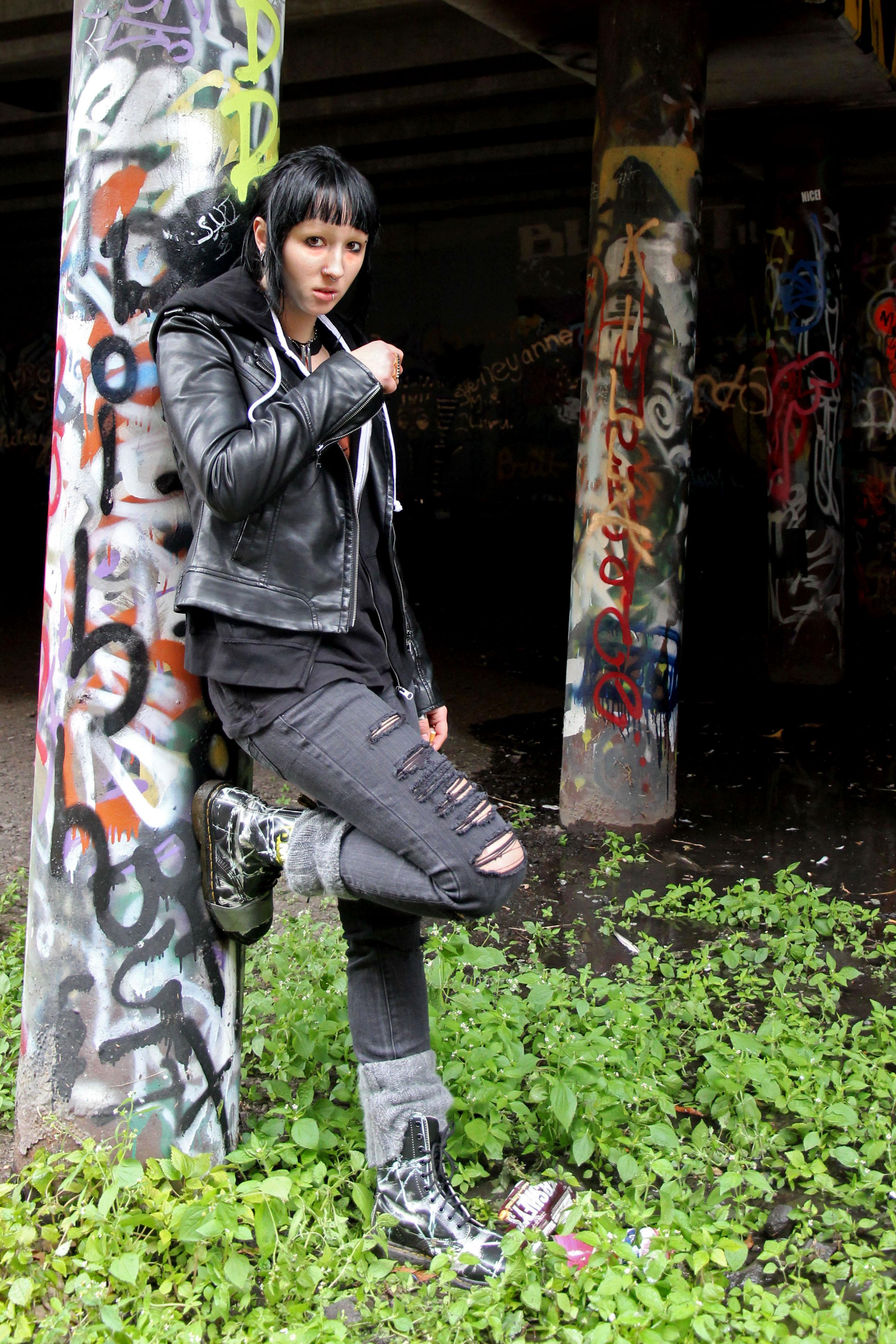 Lisbeth Salander - Girl with the Dragon Tattoo Tutorial