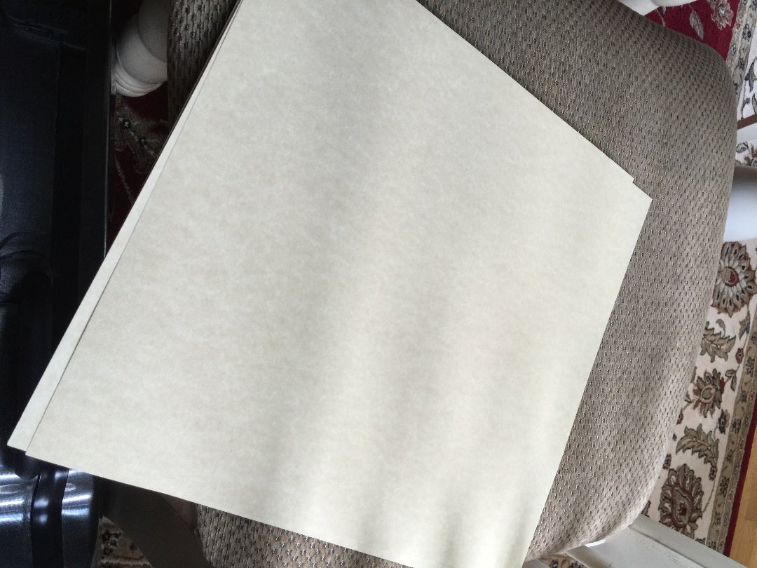 Cover All Your Windows With Beige Paper.