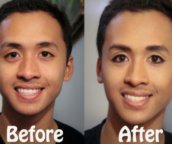 Fun Natural Looking Makeup for Guys