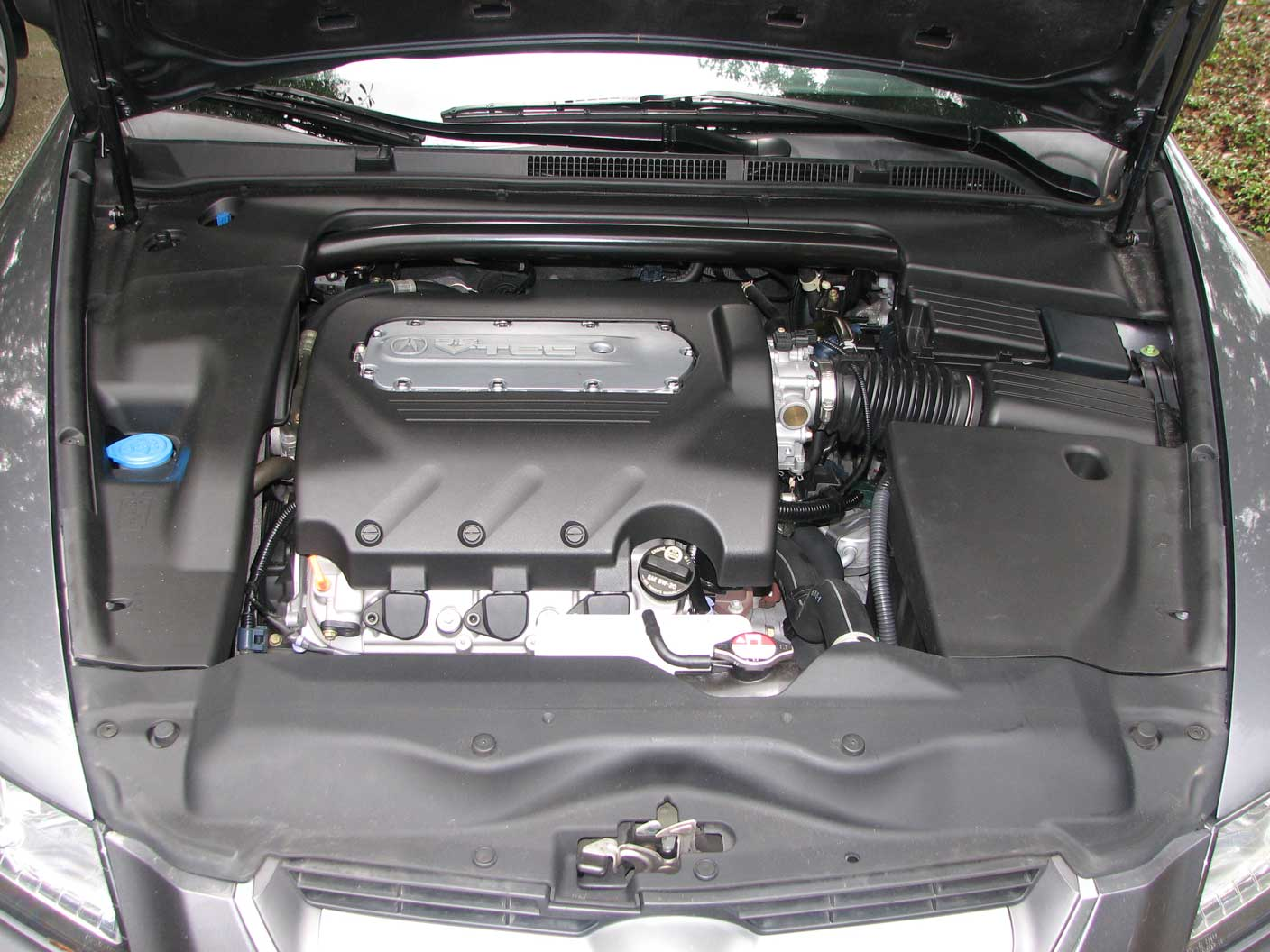 Acura TL Engine Grounding for $20 : 9 Steps - Instructables | 1998 Acura Cl Engine Bay Diagram |  | Instructables