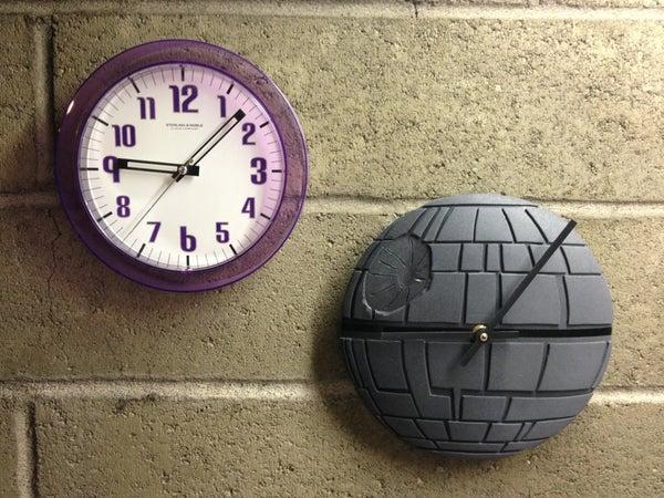 DIY Death Star Clock