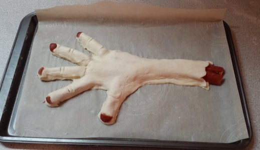 Make the Zombie Hand