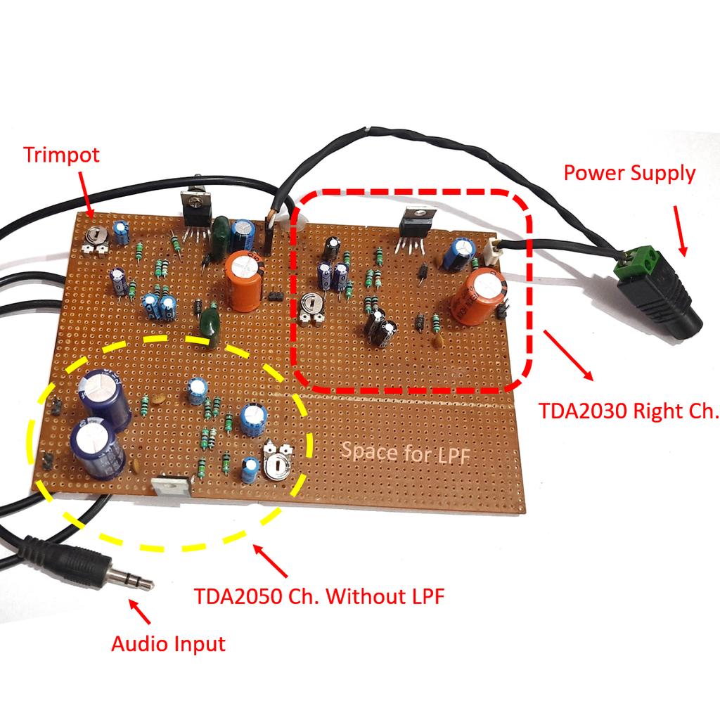 Building the Amplifier