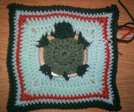 Turtle Granny Square