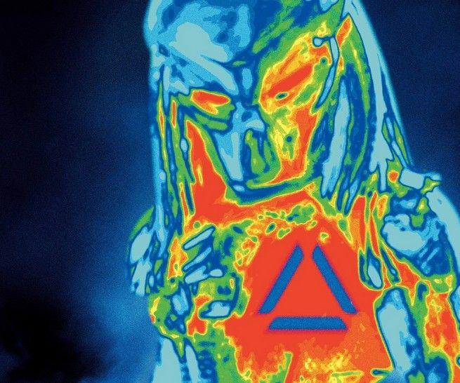 Interactive Predator Costume With Head Tracking Plasma Gun