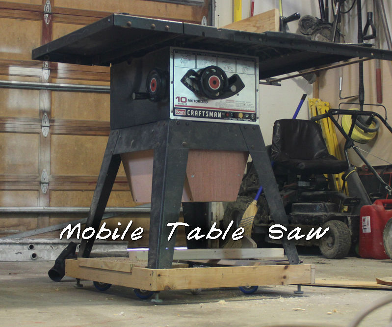 Wheels for Your Table Saw/Work Benches