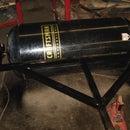homemade lawn roller